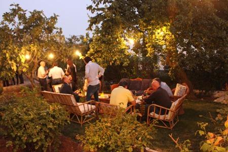 Abendstimmung im Institutsgarten