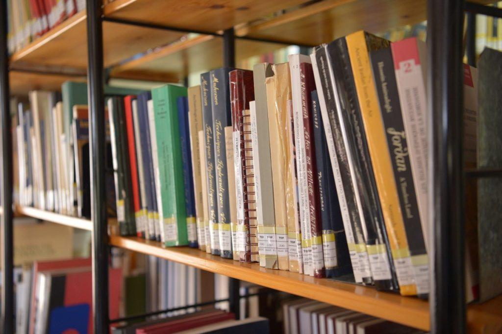 Bibliothek im DEI Amman