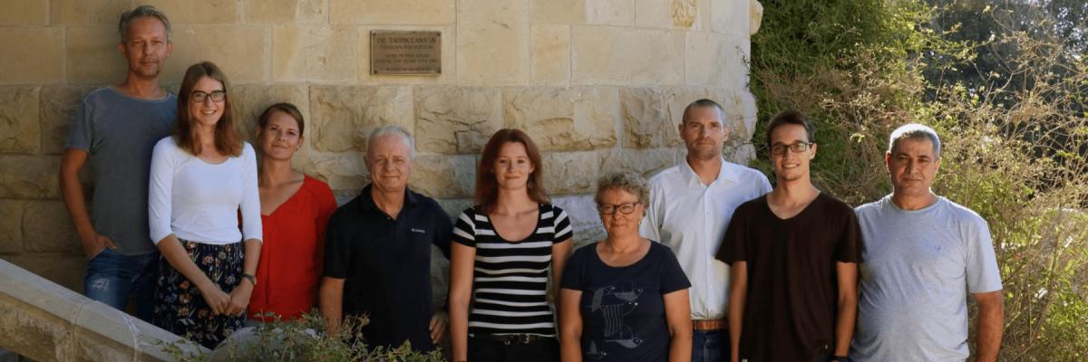 Team des DEI Jerusalem